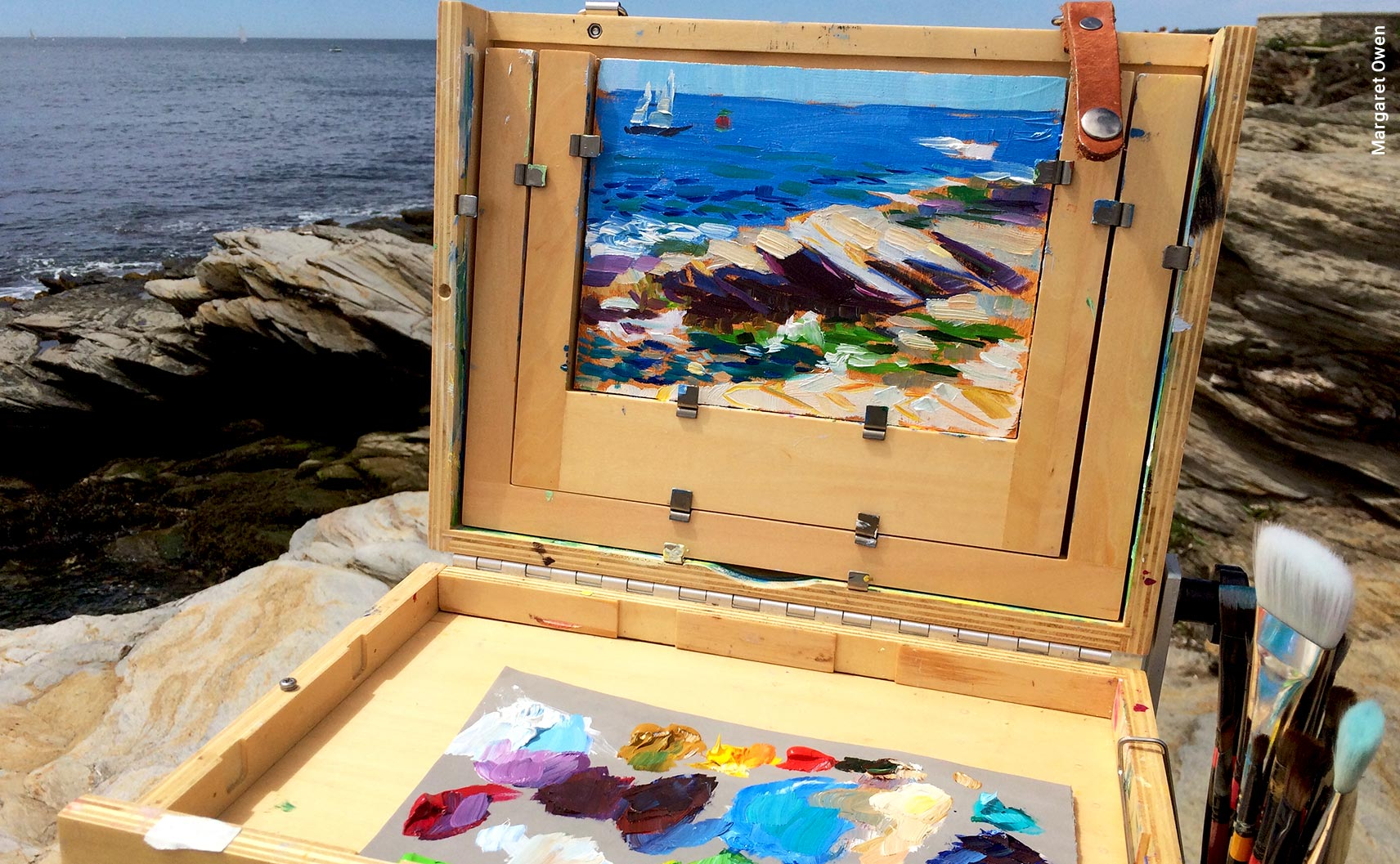Paint en Plein Air on Block Island