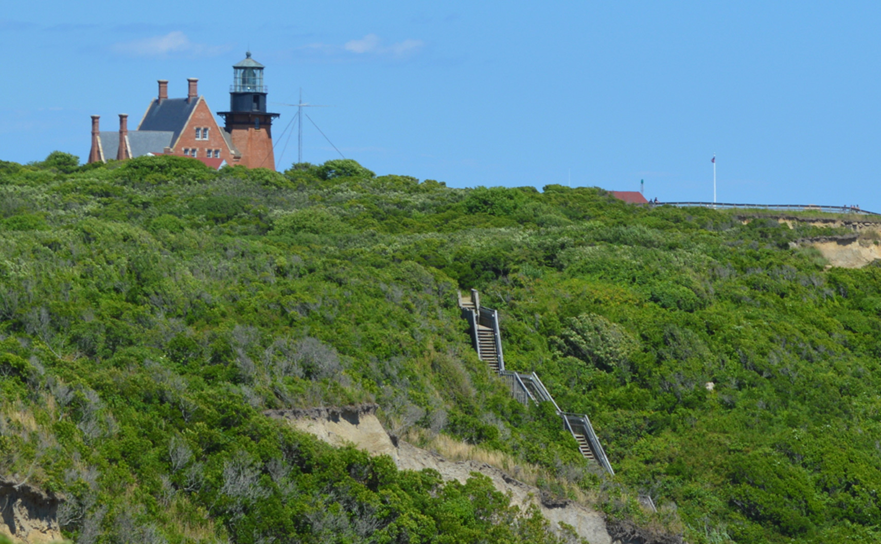 Exploration and Learning on Block Island