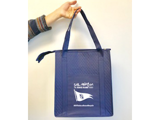 Block Island Ferry Insulated Cooler Tote
