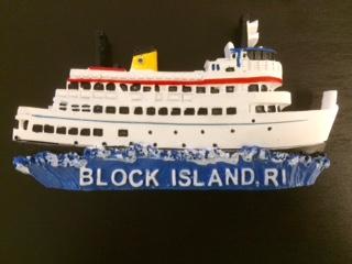 Block Island Ferry Magnet