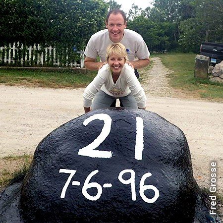 Painted Rock for Marriage