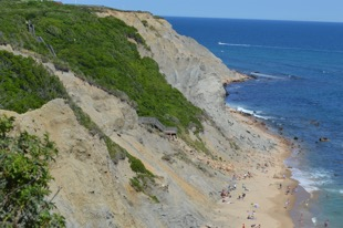 The bluffs of block Island
